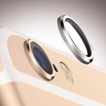 【絕版現貨優惠出清】時尚金屬Apple iPhone 6 Plus/6S立體防刮玫瑰金手機鏡頭保護環保護圈金屬環金屬圈鏡頭圈