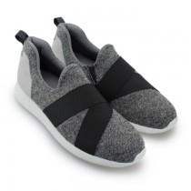 FUFA富發牌國民鞋*繃帶潮流休閒慢跑鞋2色 灰色