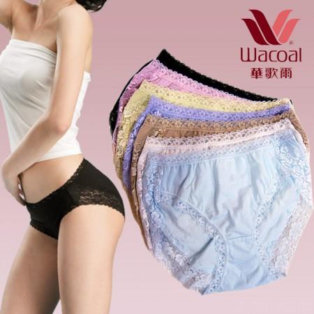 【免運】華歌爾WACOAL X RUNWAY FASHION ICON 心情內褲 / 無痕內褲七件組褲包(共七色-7件組)