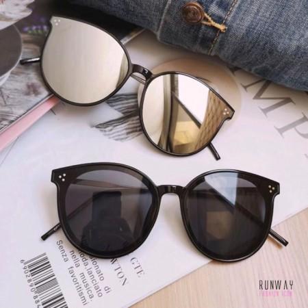 【免運】2019夏季新款太陽眼鏡大框圓框防紫外線顯瘦墨鏡(附贈眼鏡盒)  X RUNWAY FASHION ICON