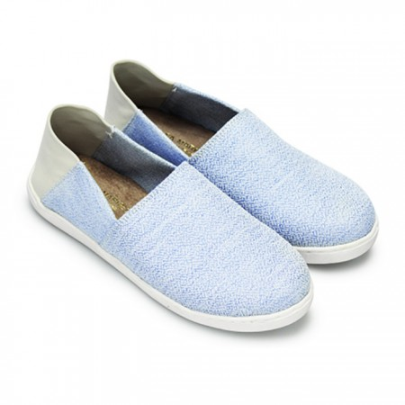 【現貨灰24.5.藍24.5】  FUFA富發牌國民鞋*可愛小圓點拼接兩穿、可後踩懶人鞋