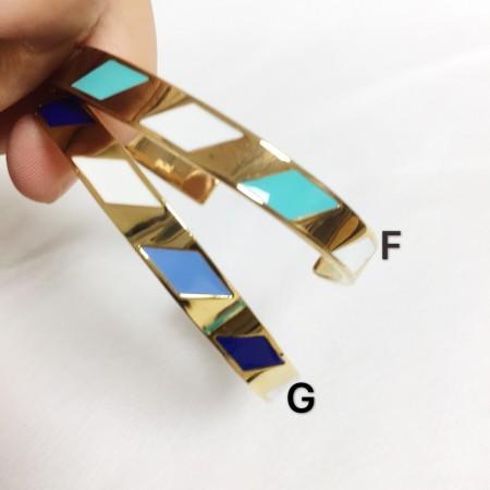 【現貨】【送禮首選】 LVG Spirit 琺琅C型手環 藍調爵士 限量販售(贈小盒子&專屬提袋) X RUNWAY FASHION ICON