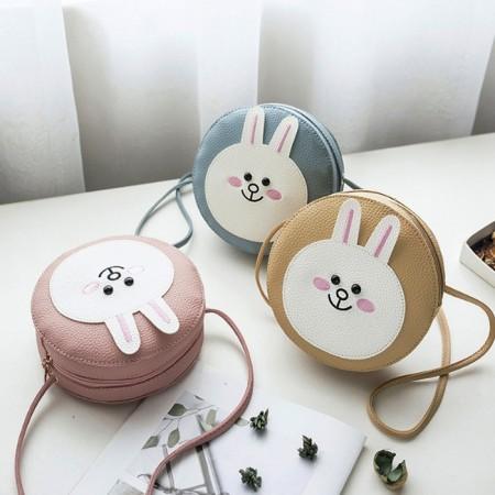 【現貨】韓版Q版熊熊兔子 單肩包鞋背包小包手機包 X RUNWAY FASHION ICON