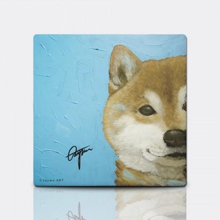 柴犬 - 陶瓷吸水杯墊