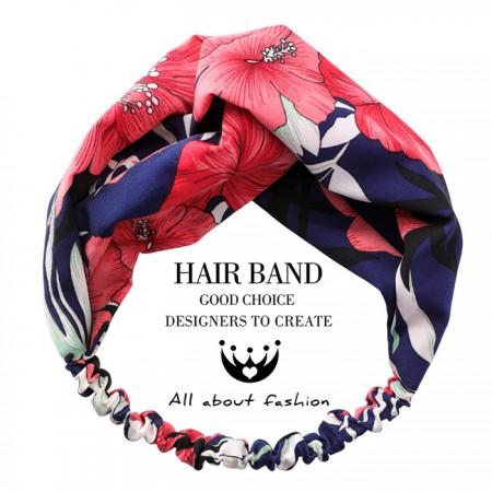 甜美花朵南洋風熱帶風渡假款髮帶3色 X RUNWAY FASHION ICON