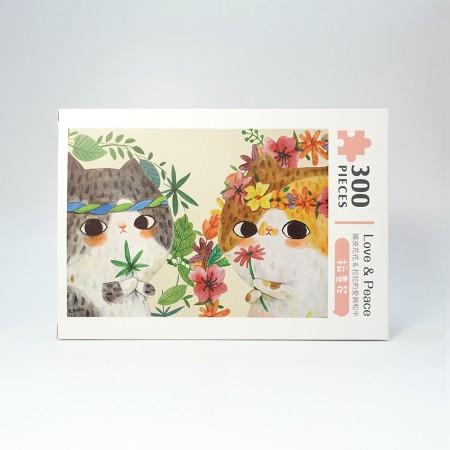 Love & Peace 拉查花 - 拼圖300 片