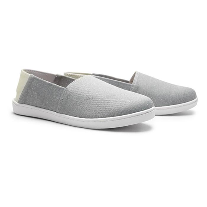 【現貨灰24.5..藍24.5】  FUFA富發牌國民鞋*可愛小圓點拼接兩穿、可後踩懶人鞋