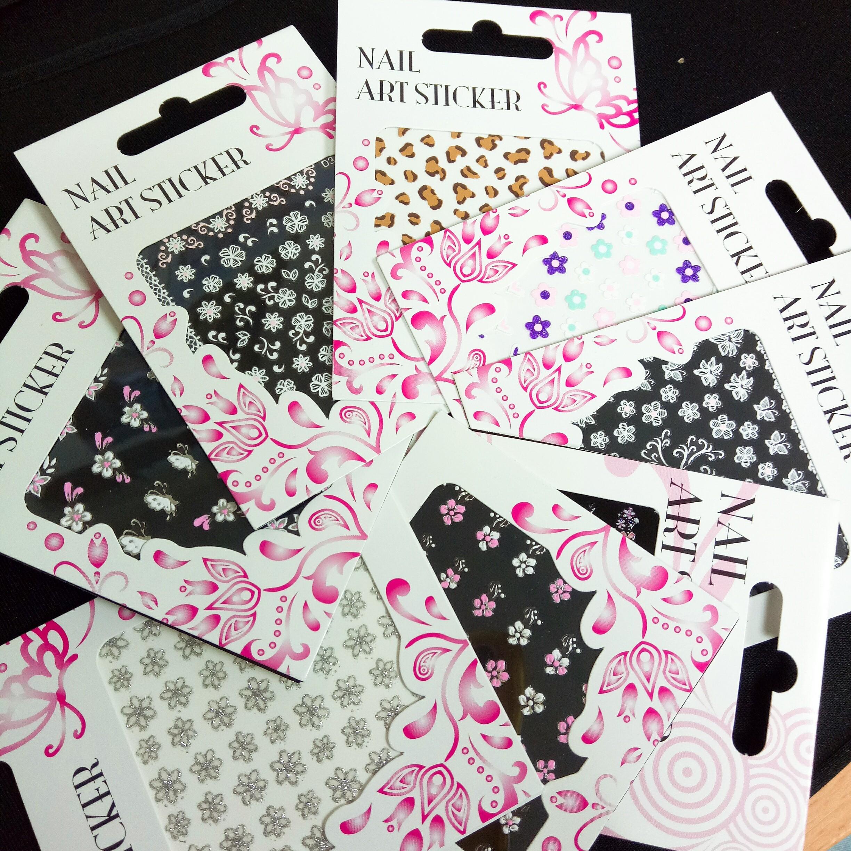 【絕版現貨優惠出清】ORIKS繽紛精美時尚可愛造型指甲貼紙