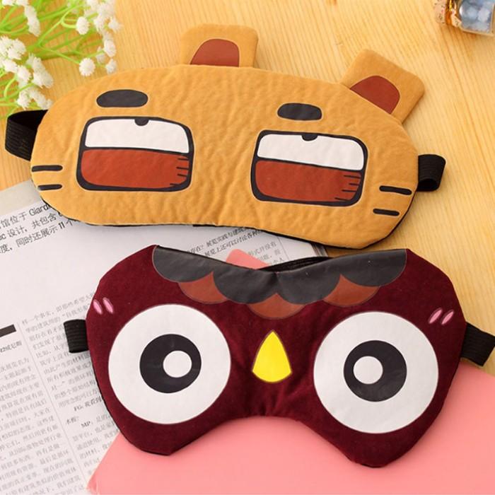 【買一送一】冰敷熱敷遮光可愛搞怪睡覺眼罩(4款) X RUNWAY FASHION ICON
