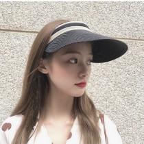 【影片實拍】【買二送一.免運】大帽沿遮陽防曬防紫外線空頂帽6色 X RUNWAY FASHION ICON