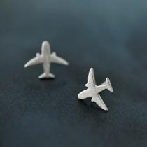 飛機 S925銀耳針 X RUNWAY FASHION ICON
