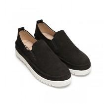 【絕版現貨優惠出清】黑色23 FUFA富發牌國民鞋*韓系潘朵拉限定單品懶人鞋