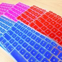 【現貨粉】繽紛螢光鍵盤保護套