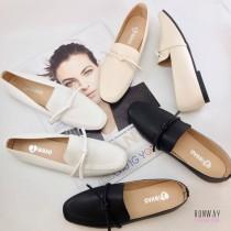 【免運】MIT氣質方頭綁繩娃娃鞋包鞋休閒鞋2色 X RUNWAY FASHION ICON