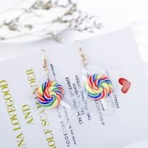 【買一送一】【部分現貨】【可改夾】透明包裝糖果創意搞怪系列小熊軟糖水果防敏鋼針耳環 X RUNWAY FASHION ICON