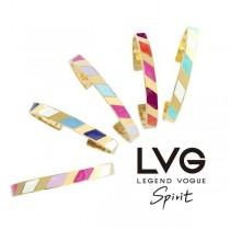 【送禮首選】【現貨】 LVG Spirit 琺琅C型手環 藍調爵士 限量販售(贈小盒子&專屬提袋) X RUNWAY FASHION ICON