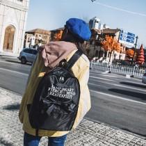 韓版綁帶造型小清新少女個性後背包雙肩包旅行包(3色) X RUNWAY FASHION ICON