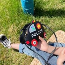 超Q小孩兒童可愛警車車包  ♥  斜背包零錢包造型包 (6色) X RUNWAY FASHION ICON