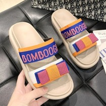 【免運】運動風撞色厚底涼鞋拖鞋 小個子女孩最愛 (2色) X RUNWAY FASHION ICON