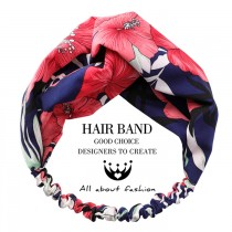 甜美花朵南洋風熱帶風渡假款髮帶2色 X RUNWAY FASHION ICON
