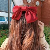 【買一送一】大蝴蝶結髮夾大髮夾 韓國網紅 復古髮飾頭飾可愛一字夾 (7色) X RUNWAY FASHION ICON