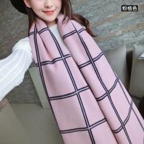 【免運】歐風英倫風格紋造型雙面保暖圍巾圍脖披肩5色 X RUNWAY FASHION ICON