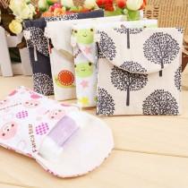 【買二送一】害羞必備清新風棉麻棉棉的家衛生棉包(5色) X RUNWAY FASHION ICON