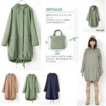 【免運】日系無印風風衣式輕便雨衣 雨褲縮口時尚(贈收納袋) X RUNWAY FASHION ICON