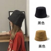 素色漁夫帽圓頂水桶帽盆帽網美帽海邊遮陽防曬防紫外線出遊 (4色) X RUNWAY FASHION ICON