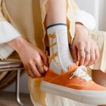 【3入組】復古蕾絲窗花氣質宮廷風 日系棉襪子  ♥  棉質中高筒襪(4色) X RUNWAY FASHION ICON