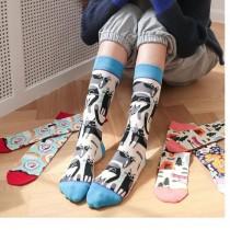 【3入組】風 日系棉襪子  ♥  棉質中高筒襪(4色) X RUNWAY FASHION ICON