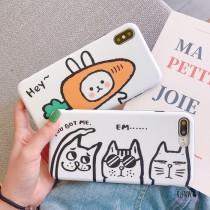 【影片實拍】搞怪兔子貓咪手機殼保護殼iPHONESamsung三星HUAWEI華為 X RUNWAY FASHION ICON
