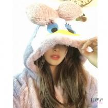 【免運】法蘭絨可愛唐老鴨黛西居家服 冬天保暖衣睡衣(4色) X RUNWAY FASHION ICON