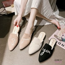 【免運】LOVEU穆勒包頭半拖鞋尖頭鞋休閒鞋(3色) X RUNWAY FASHION ICON