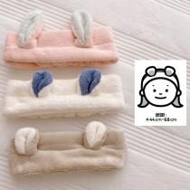 耳朵髮帶 動物造型日系可愛乾髮巾  ♥  懶人吸水乾髮帽毛巾帽(3色) X RUNWAY FASHION ICON