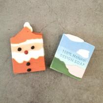 【免運.兩入組】聖誕節香氛手工皂禮盒組 俏皮可愛聖誕老公公交換禮物送禮首選 X RUNWAY FASHION ICON