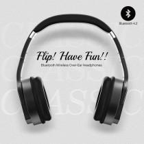 SUGAR《Flip無極限翻轉藍牙耳罩式耳機》翻轉式喇叭 藍芽耳機 X RUNWAY FASHION ICON