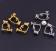【現貨】【聖誕節系列】【可改夾】秋冬甜美聖誕節系列鈴鐺禮物繽紛防敏鋼針耳環 X RUNWAY FASHION ICON